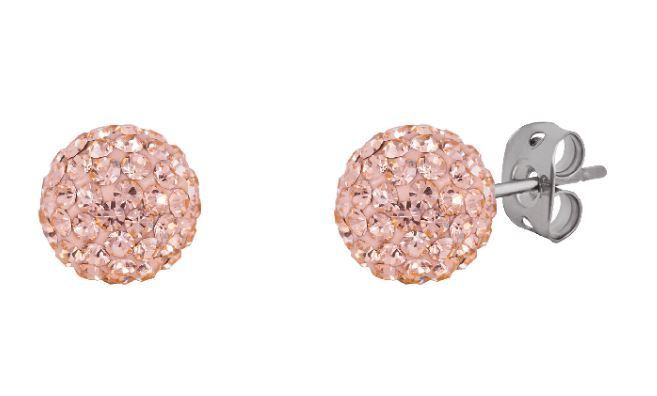 Tresor Paris 8mm Gold Medium BonBon Stud Earrings
