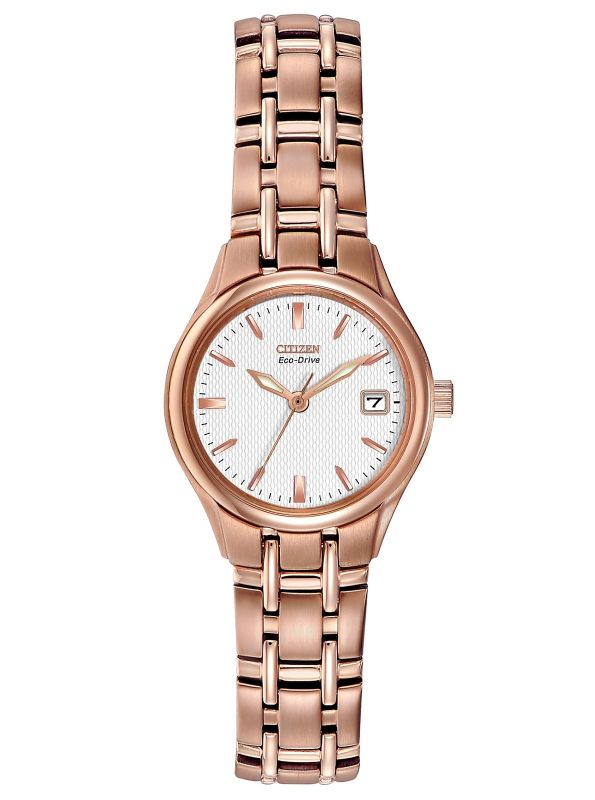 EW1263-52A Citizen Rose Gold Watch Stainless Steel Eco-drive